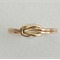 Delicate, sweet true love-knot, infinity, lover's knot 14k gold-filled ring