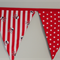 RED & WHITE PIRATE BUNTING