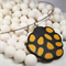 Polymer Clay Yellow 'Cluster' Pendant