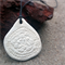 Reversible Polymer Clay 'Doily' Pendant