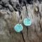 Polymer Clay 'Daisy Sky' Blue Dangle Earrings