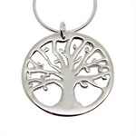 Tree of Life Sterling Silver Necklace - Free Shipping!
