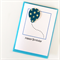 ANY AGE personalised card happy birthday rainbow and cloud