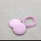 hair ties - pink white gingham / girl toddler tween