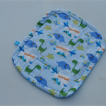 Dinosaur Roar print waterproof liner for pram/stroller or car seat