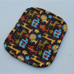 Zoo animals print waterproof liner for pram/stroller or car seat