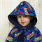 Super Hero Boys Corduroy Cape (Hip length)