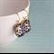 """""""Vines"""" Vintage Jewel Earrings. Gold Vermeil."""