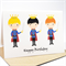 Happy Birthday Card - Boy - 3 Princes / Knights - HBC103
