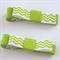 2 Chevron Pattern Hair Clips