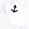 Anchor  Boys Girls Bodysuit Onsie, Baby, Unisex Gender Neutral