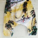 Hawaiian Baggy Bum Pants