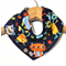 MONSTERS Bandana bib Absorbent with STAR-DRY backing