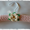 Pale Pink | Crocheted Covered Coat Hanger