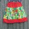 Little Red Girls Skirt