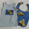 Caterpillar bib and singlet