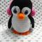 Penguin, READY TO POST, Crochet Toy, Girl Gift