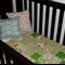 Cot/Toddler Quilt - Cruiser Boulevard Green