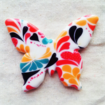 Butterfly Ceramic Brooch