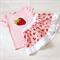 Strawberry Tshirt and Twirly Skirt Set Size 4