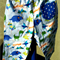 Size 18 to 24 months Baby  Pants Blue Dinosaurs with Blue Star Pockets