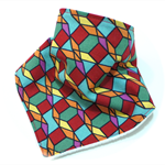 Bandana bib baby dribble bibs babies modern geometric boy boys girl girls