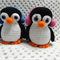 Gentoo Penguins - Penny and Pedro Crocheted Animals