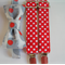 Braces and Bow tie set - elephants, red, white, spots, boys clothes, party