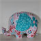 Large Elephant Softie - Twice As Nice Pink Floral