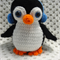 Penguin, READY TO POST,  Crochet Toy, Boy Gift