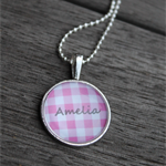 GIRLS PERSONALISED PENDANT NECKLACE
