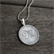 MONOGRAMMED PERSONALISED PENDANT NECKLACE