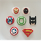 Superhero Edible Cupcake Toppers