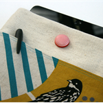ipad/tablet cover - funky bird