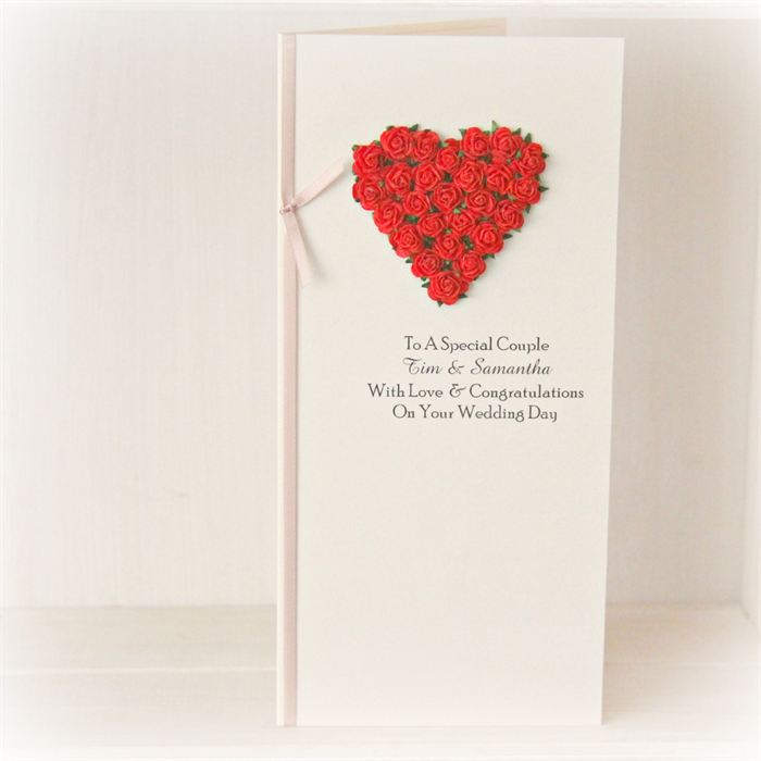 Wedding Gift Card Australia : Wedding Personalised card for money, voucher, gift card, wishing well ...