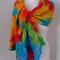 rights nuno felted wool silk lightweight summer scarf wrap by plumfish