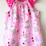 MaisyMoo Designs 'My Playful Bear' Peasant Dress Size: 12mth - 4yr