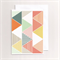 Greeting Card - Fiesta Triangle design