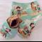 Western Cowboy/Cowgirl Baby Shoes & Bandanna Gift Set