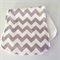 Grey Jumbo Contoured Burp Cloth, unisex, baby shower, gift, boy, girl