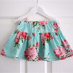 BOO! Twirly Skirt Aqua Rose Bouquet Size 3