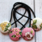 Mixed Girly Floral  Pack of Hair Ties