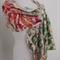 SALE lightweight soft cobweb felted scarf merino and silk