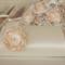 Vintage Inspired Ivory Satin Bridal Clutch