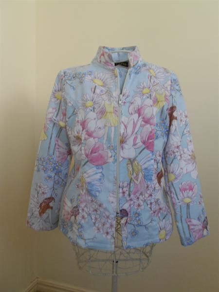 Garden Fairies Jacket -  Zip-Up
