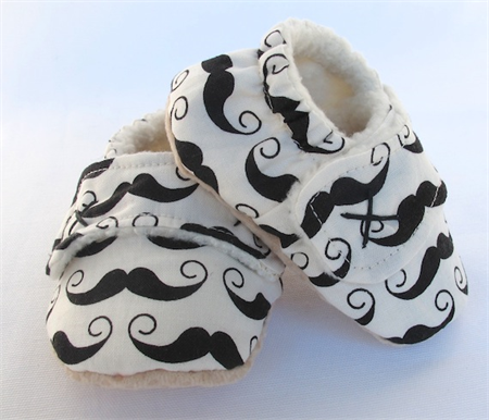 Boys Baby Booties Boys Baby Shoes Fleece Lined For