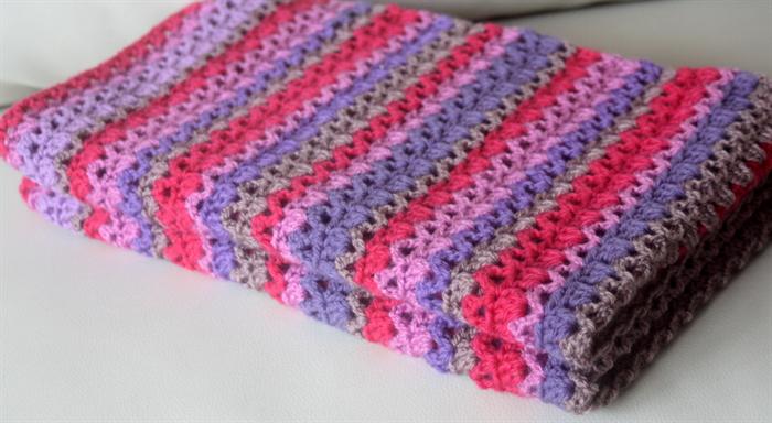 The Ebony Crochet Baby Blanket PDF Pattern Boutique ...