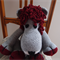 Larry the hand crocheted Lion (toy for boy or girl)