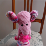 Mindy the friendly house mouse: OOAK, washable, softie by CuddleCorner