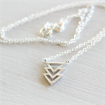 Arrow Sterling Silver Necklace
